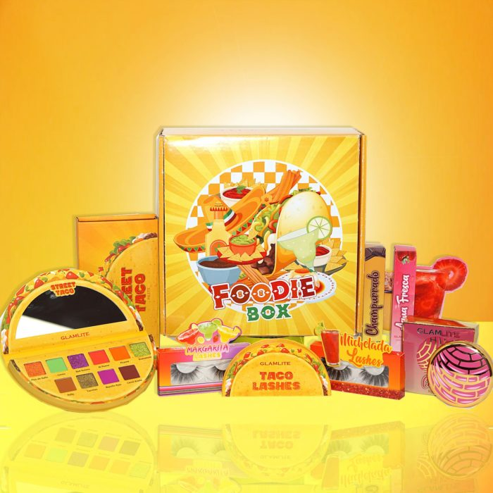 Foodie box collection glamlite