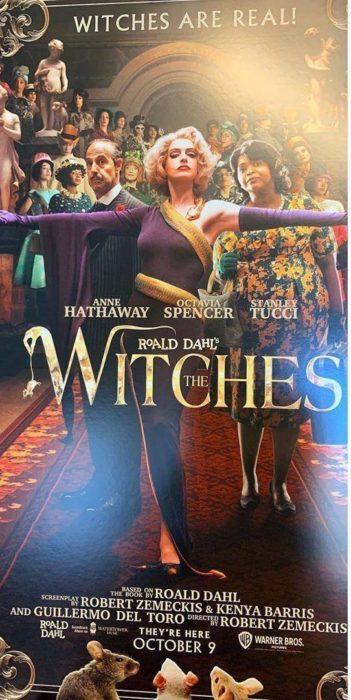 Póster del remake de la película 'Las brujas' que se estrenará en 2021