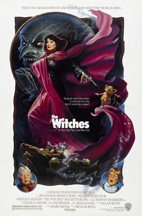 Póster de la película 'Las brujas' de 1990