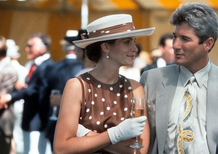 Julia Roberts y Richard Gere en una escena de la película Mujer Bonita