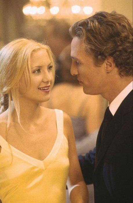 Kate Hudson y Matthew McConaughey durante una escena de la película Como perder a un hombre en 10 días