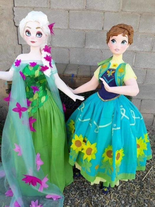 Piñata Anna Y Elsa