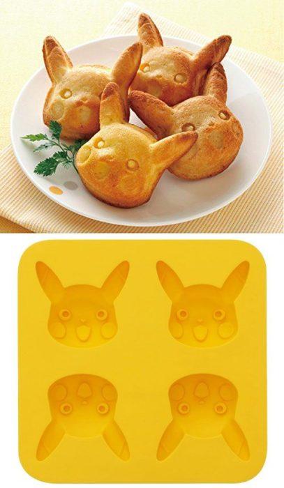 Moldes para panes en forma de pikachú