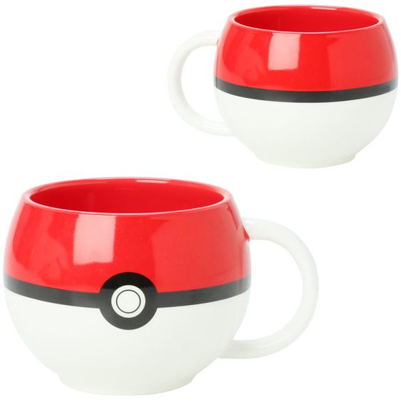 Tazas en forma de pokebola