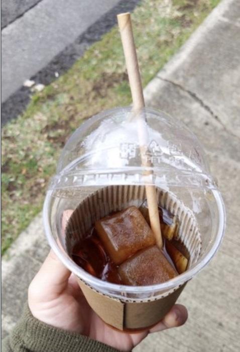 Café con hielos de café