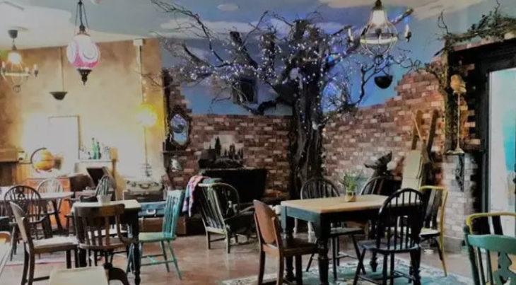Sala de té El caldero de acero