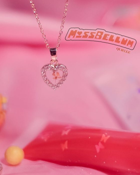Kyel necklace inspired by Miss Belo from the powerpuff girls