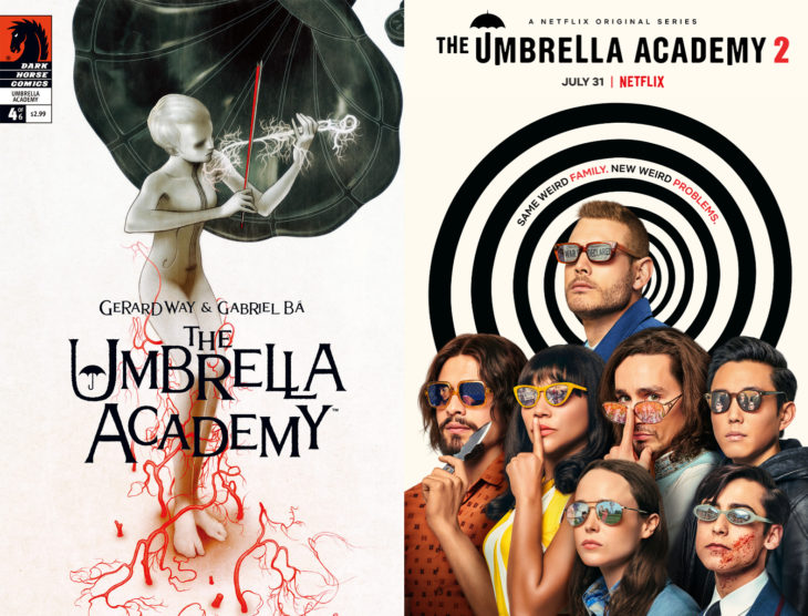 Series y películas basadas en cómics; The Umbrella Academy