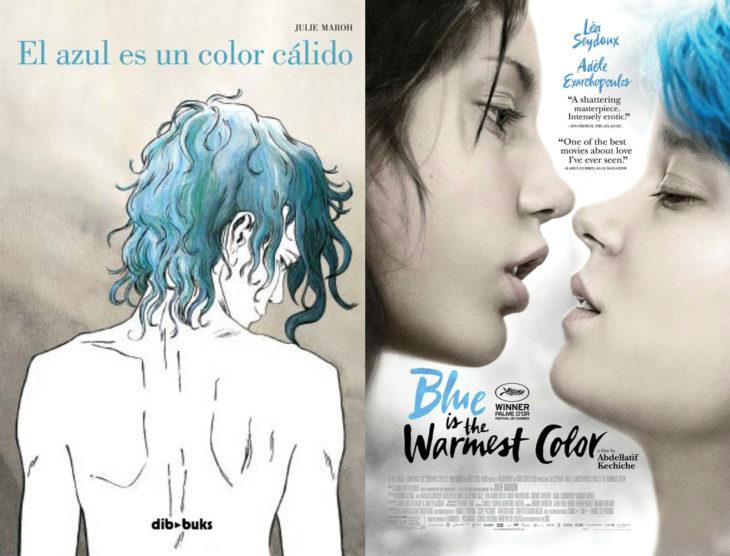 Series y películas basadas en cómics; La vida de Adele, Blue is the warmest color
