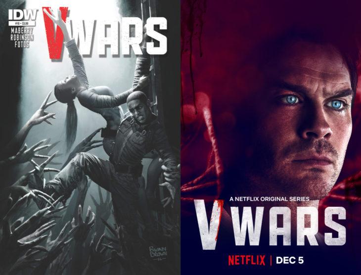 Series y películas basadas en cómics; V-Wars