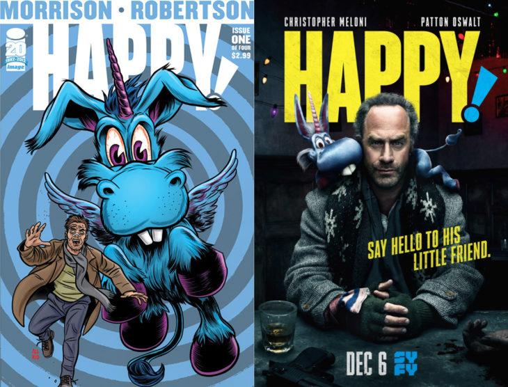 Series y películas basadas en cómics; Happy!