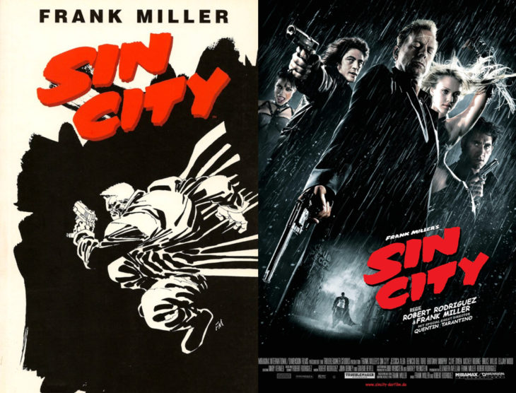 Series y películas basadas en cómics; Sin city