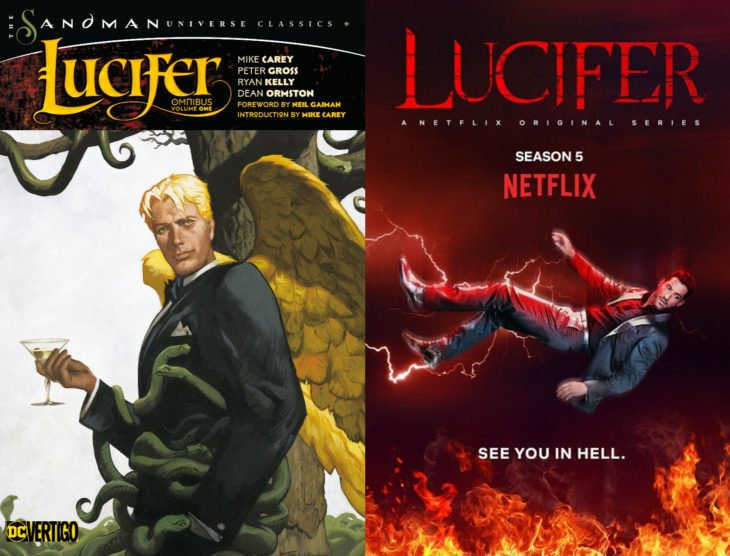 Series y películas basadas en cómics; Lucifer