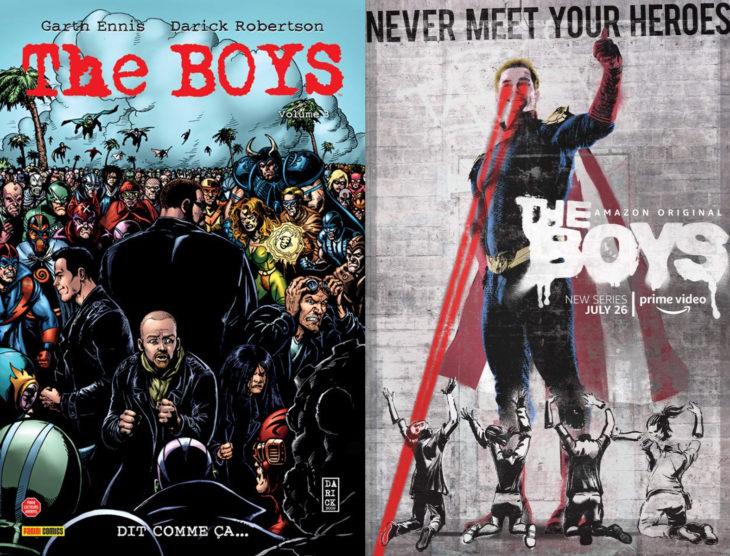 Series y películas basadas en cómics; The Boys