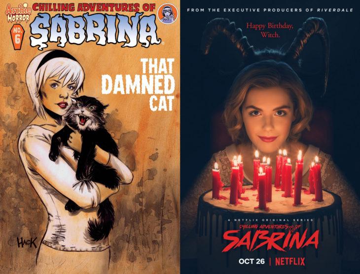 Series y películas basadas en cómics; El mundo oculto de Sabrina, Chilling Adventures of Sabrina