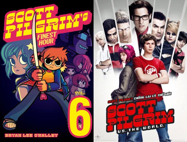 Series y películas basadas en cómics; Scott Pilgrim contra el mundo