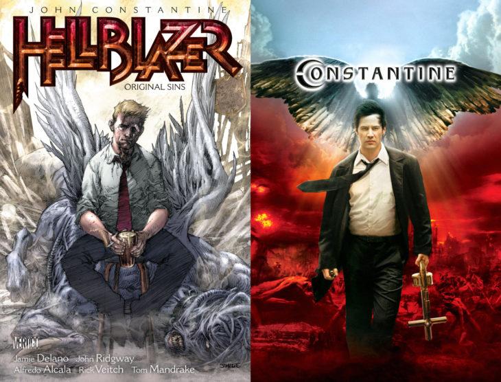 Series y películas basadas en cómics; Constantine