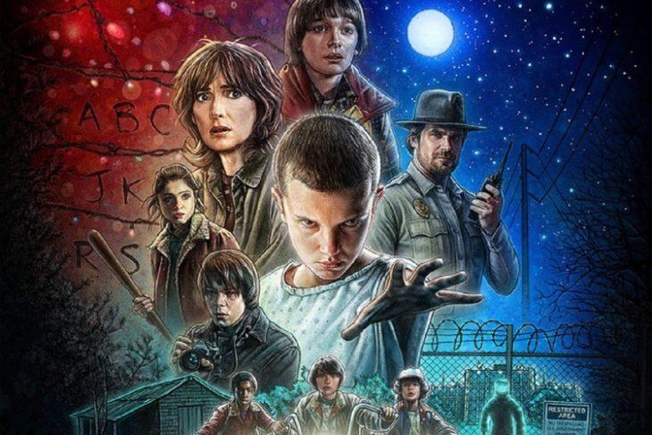 Poster de la serie Stranger Things