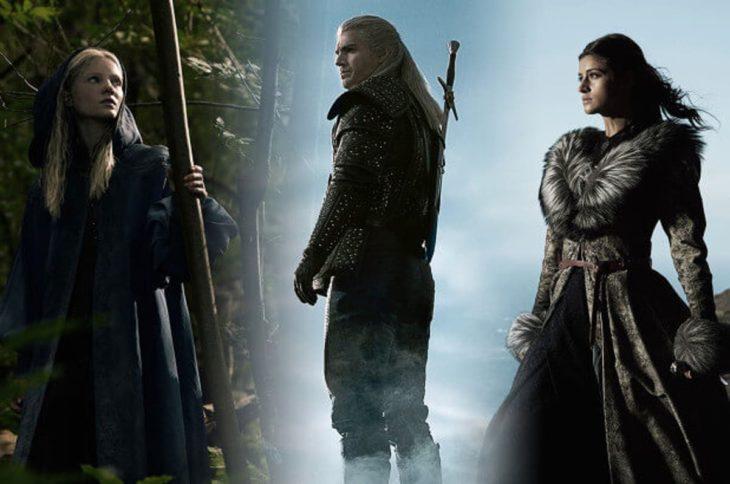 Yennefer, Geralt y Ciri