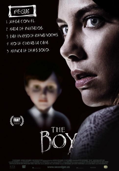 "Póster de la película de misterio ""The boy"""