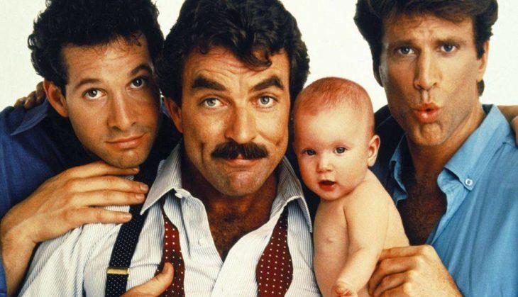 tres hombres y un bebe película