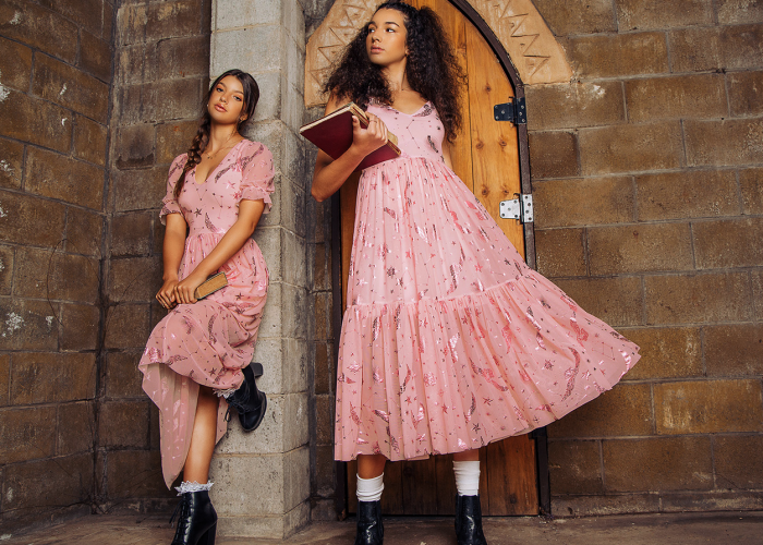 pink dresses from harry potter's blackmilk collection
