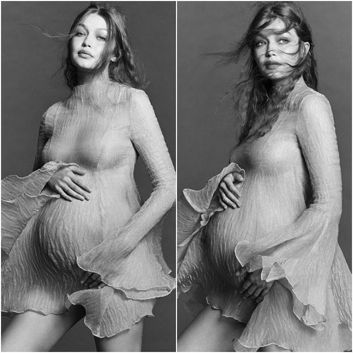 gigi hadid comparte primeras fotos de su embarazo