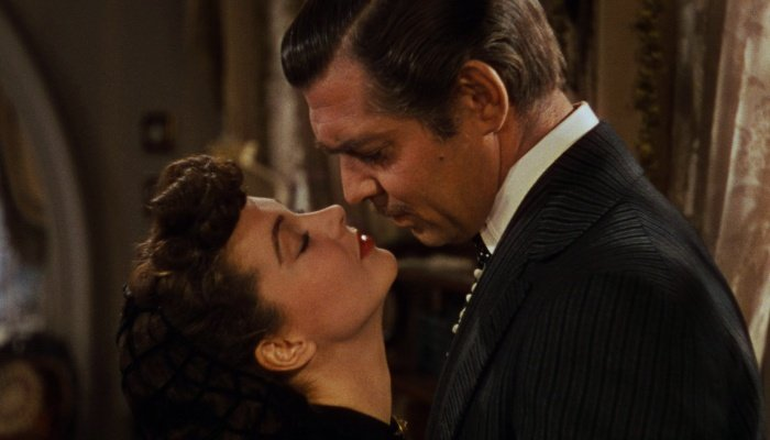 escena de gone with the wind
