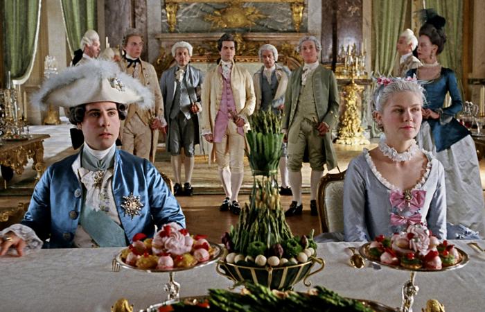 escena de Marie Antoinette