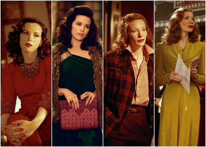 different outfits from the movie the aviator