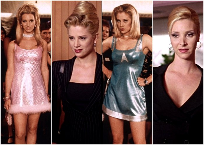 outfits de la película Romy and Michele's High School Reunion