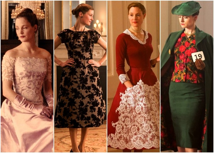 outfits de la película phantom thread
