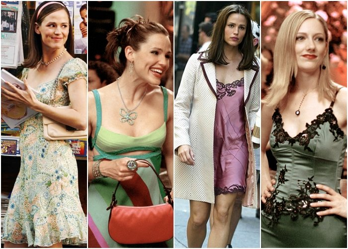 different outfits from the movie if I were 30