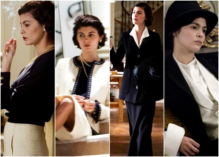 outfits de la película coco before chanel