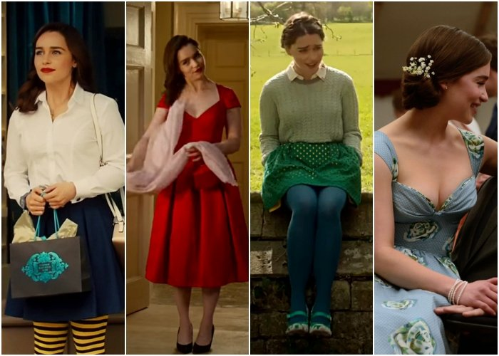 outfits de la película me before you