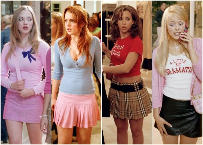 different outfits from the movie heavy girls