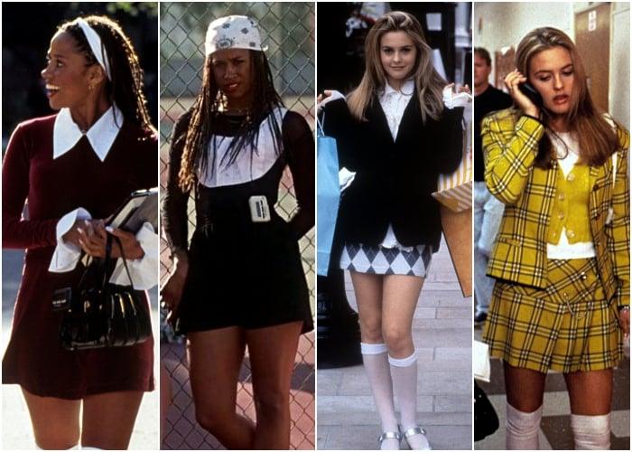 diferentes outfits de la película clueless