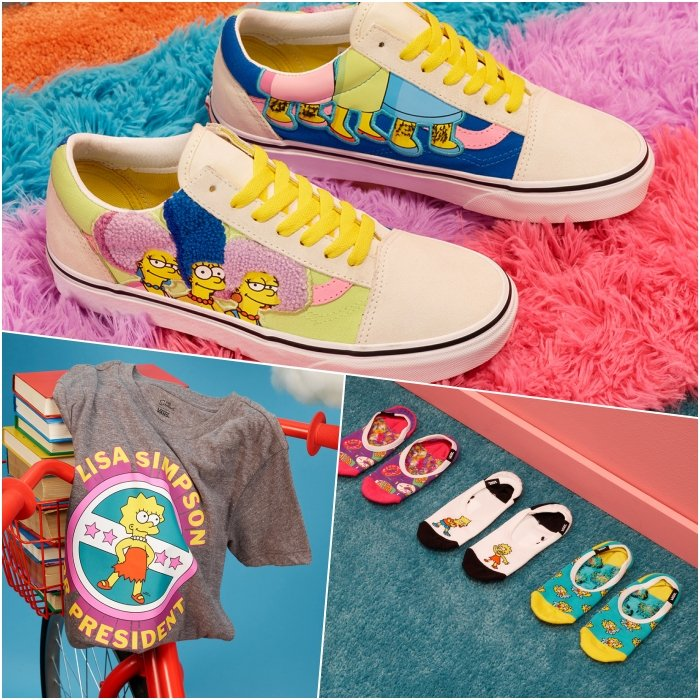 VANS collection inspired by The Simpsons