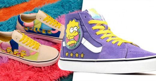 Vans anuncia nueva colección inspirada en Los Simpson