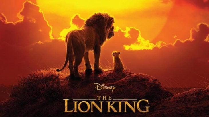Poster de la película de El rey león en live action
