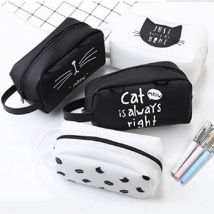 Estuches inspirados en diseños de gatitos