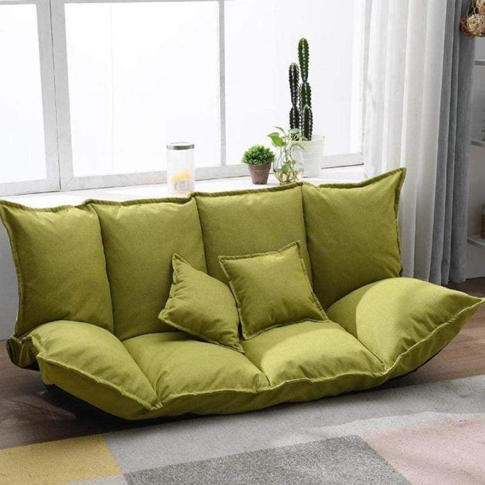 Sofá de piso para varias personas