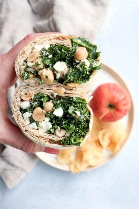 Wrap de Kale