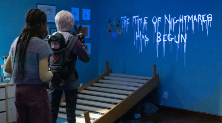 Escena de la película A Babysitter's Guide to Monster Hunting