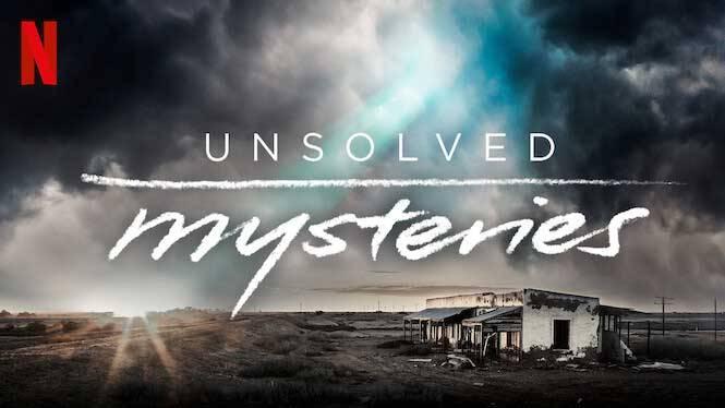Poster promocional de Netflix de la serie Misterios sin resolver, volumen 2