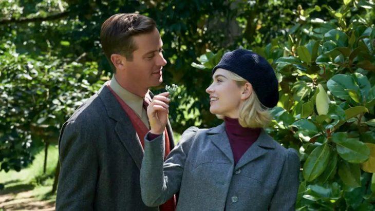 Escena de la película Rebecca con Lily