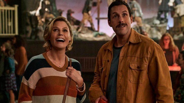 Escena de la película El Halloween de Hubie con Adam Sandler