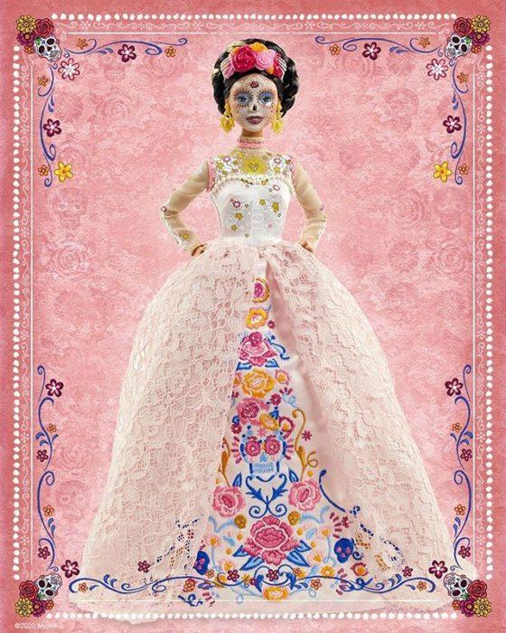 Atuendo de Barbie Catrina 2020