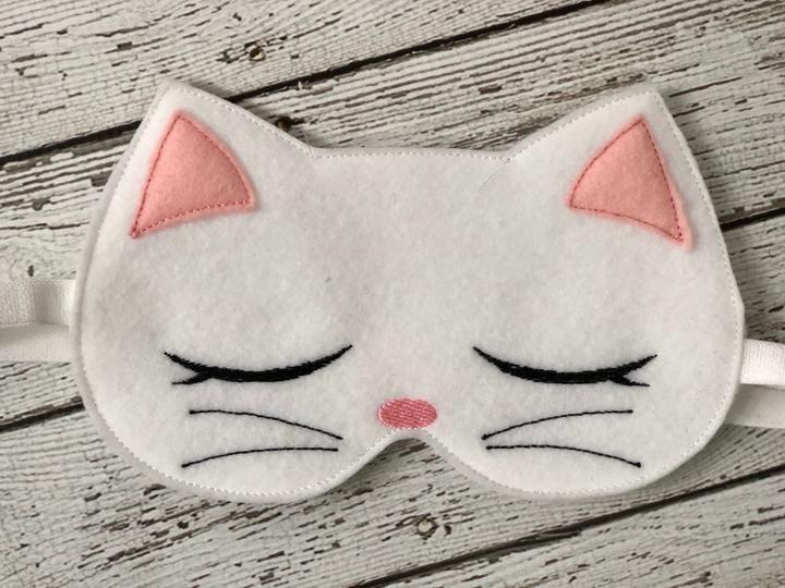 Antifaz para dormir en forma de gatito