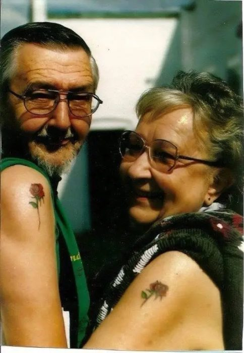 15 grandparents who proudly display their tattoos 2